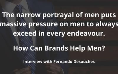 How can brands help men?